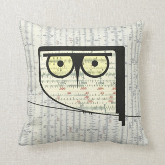 Metric Owl Pillow