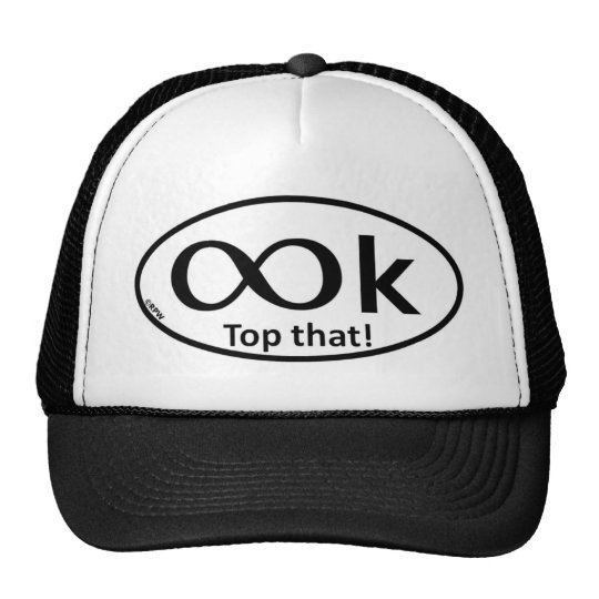 metric race distance parody trucker hat