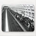 Metro B&W Mousepad
