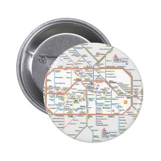 metro Berlín Pin Redondo 5 Cm