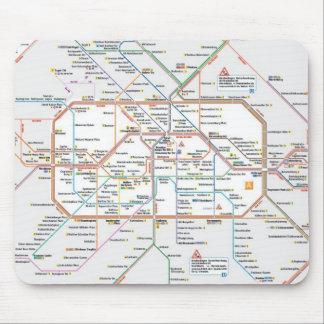 metro Berlín Tapete De Raton