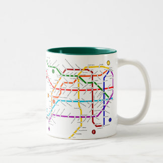 Metro buenos argentina Mug