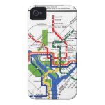 Metro de DC Case-Mate iPhone 4 Cárcasas