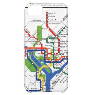 Metro de DC Funda Para iPhone 5C