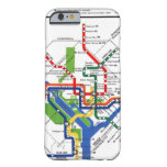 Metro de DC Funda De iPhone 6 Barely There