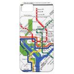 Metro de DC iPhone 5 Carcasas