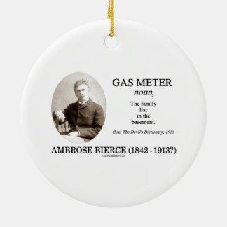 Metro de gas (Ambrose Bierce el diccionario del di Ornamento De Navidad