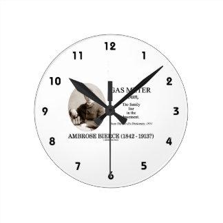 Metro de gas Ambrose Bierce el diccionario del di