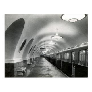 Metro de Moscú del soviet de URSS (Metropoliten), Postales