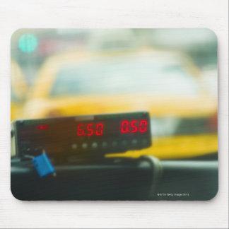 Metro de taxi alfombrillas de ratones