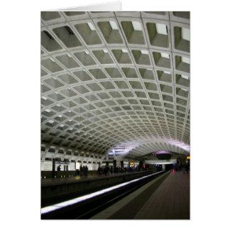 Metro del Washington DC Tarjeta