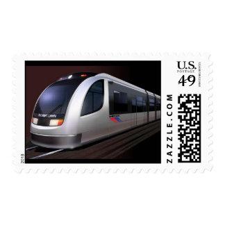 Metro Light Rail - Postage