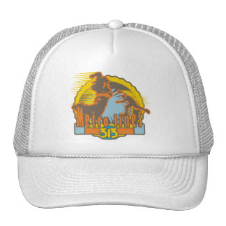 Metro Lines Soccer Tshirts and Gifts Trucker Hat