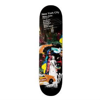Metro New York City Skateboard