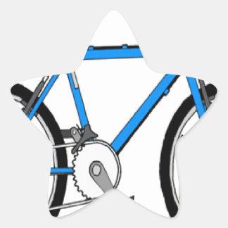 Metro Rail Bike Star Sticker