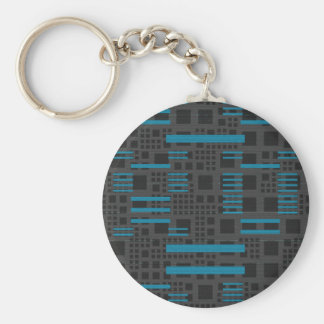Metro Retro Keychain