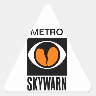Metro Skywarn Triangle Sticker