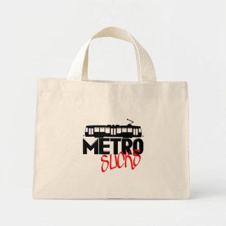 Metro Sucks Mini Tote Bag