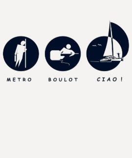 ¡Metro, Trabajo, Ciao! Camisas