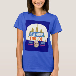 Metro Workers for Joe Lhota NYC Mayor 2013 T-Shirt