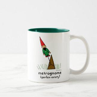 metrognome (jardín - variedad) taza de dos tonos