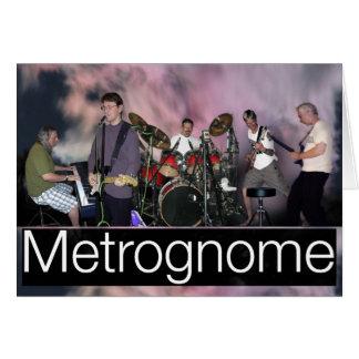 MetroGnome lo cree para cardar Tarjeta De Felicitación