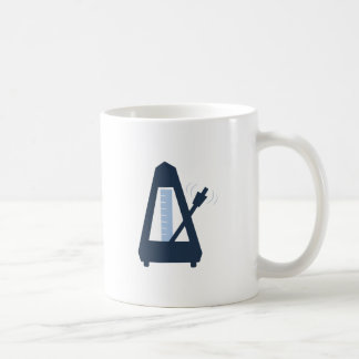 Metronome Classic White Coffee Mug