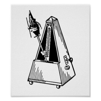 Metrónomo del Musical de Metrognome Poster