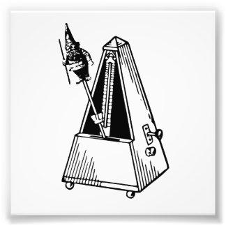 Metrónomo del Musical de Metrognome Fotografía