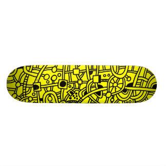 Metrópoli II - Negro en amarillo Patín