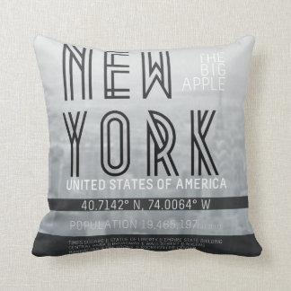 Metrópoli Nueva York Almohada