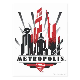 Metropolis Art Deco Post Card