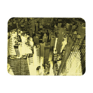 Metropolis IV Rectangular Photo Magnet