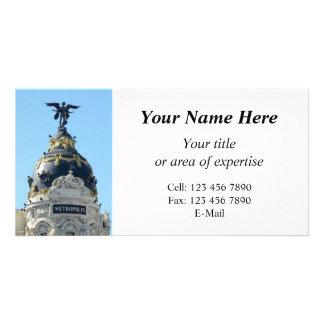 Metropolis, Madrid your info photocard Card