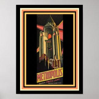 Metropolis Movie Poster 12 x 16