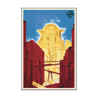 Metropolis Movie Poster Canvas Print