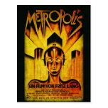 METROPOLIS Original RESTORED Adaptation Postal