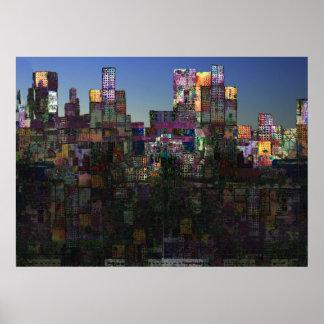 """""""Metropolis"""" Print"""