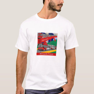 Metropolis Transit Mix Mens T-Shirt