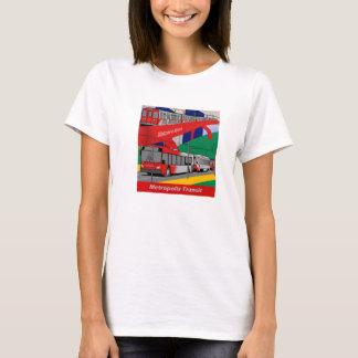 Metropolis Transit Mix Womens T-Shirt