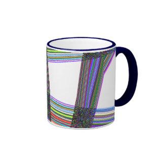 Metropolis Weave Coffee Mugs