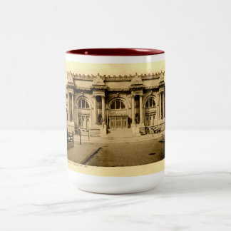 Metropolitan Art Museum, New York Vintage Two-Tone Coffee Mug