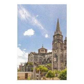 Metropolitan Cathedral Fortaleza Brazil Stationery
