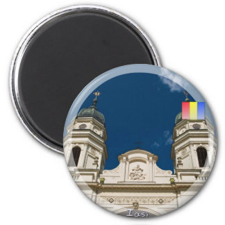 Metropolitan cathedral 2 inch round magnet