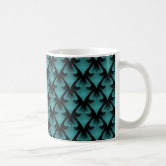 Metropolitan Glam Mug, Vivid Teal Coffee Mug