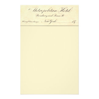 Metropolitan Hotel Flyer