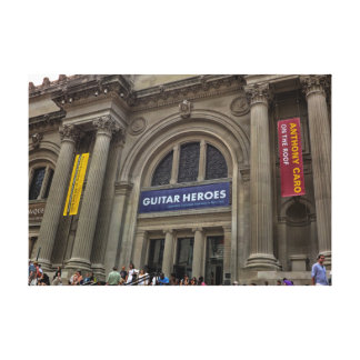 Metropolitan Museum of Art the MET Photo Stretched Canvas Print