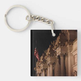 Metropolitan Museum of Art (the MET) Photo Acrylic Keychain