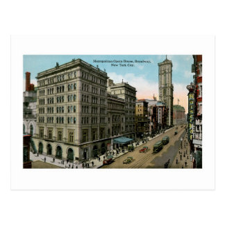 Metropolitan Opera House, New York Postcard