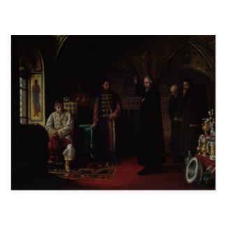 Metropolitan Philip of Moscow  with Tsar Ivan Postcard